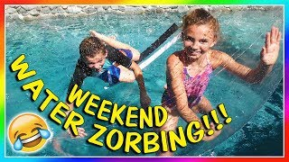 Download WEEKEND WATER ZORBING! | We Are The Davises Video