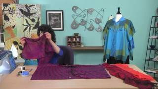 Download Redesign a pashmina into a jacket on It's Sew Easy with Joanne Banko (1207-1) Video
