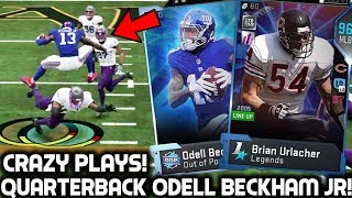 Download ODELL BECKHAM JR PLAYS QUARTERBACK! MY BEST PULL! Madden 19 Ultimate Team Video
