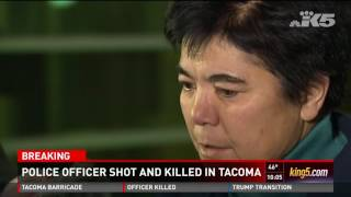 Download Police officer shot and killed in Tacoma (Wed 11/30/16 10pm) Video