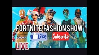 Download 🛑FORTNITE LIVE FASHION SHOW! SKIN COMPETITION WIN REWARDS! NAE CUSTOMMATCHMAKING! Video
