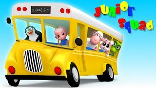 Download 🔴 Kindergarten Songs And Videos For Babies | Junior Squad Cartoons Video