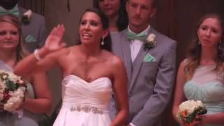 Download Bride Walks Away From Fiancé During The Wedding Ceremony Now Keep Your Eye On Her Hands Video