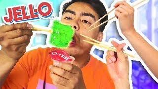 Download Is It Possible To Eat JELLO With Chopsticks? Video