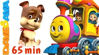 Download 🐷 Farm Animals Train Part 2| Learn Farm Animals & Animal sounds plus Finger Family from Dave and Ava Video