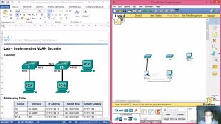 Download 3.3.2.2 Lab - Implementing VLAN Security Video