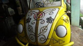 Download Odong Odong Mobil Gowes Modifikasi Mesin Sepeda Motor Karya Wong Tegal Video