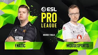 Download CS:GO - Fnatic vs. mousesports [Inferno] Map 1 - Grand Final - ESL Pro League Season 10 Finals Video