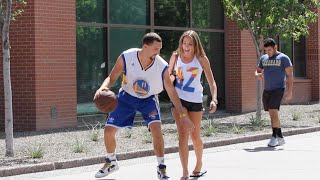 Download Klay Thompson Plays Basketball with Strangers!! Video