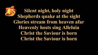 Download Silent night lyrics (karaoke) - instrumental music - piano and strings - Christmas song / carol Video