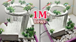 Download Awesome New Table Top Waterfalls Water Fountain | Cemented Rain Fountain Video