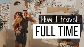 Download How I travel full time! Video