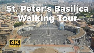 Download St. Peter's Basilica Walking Tour in 4K Video