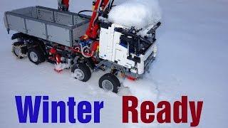 Download Winter Ready Lego Technic 42043 Mercedes-Benz Arocs 3245 MOD#7 Video