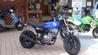 Download 少女ライダー 新車 メチャ渋い カスタムミニ Ape50 HONDA ホンダ・エイプ HC07 Video