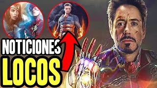 Download Revelan que Iron Man PUEDE VOLVER y la trama de los Eternos, Doctor Strange 2! Flash crisis Video