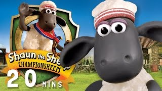 Download Shaun the Sheep - ChampionSheeps [20 MINUTE COMPILATION] Video