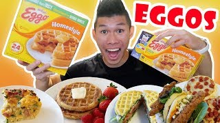Download EGGO WAFFLE Recipes Inspired by STRANGER THINGS || Life After College: Ep. 574 Video