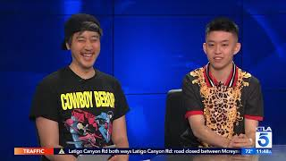 Download Rich Brian and 88 Rising CEO on Head in the Clouds Music Festival in Los Angeles Video