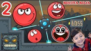Download La Bolita Roja en la Fábrica 2 | Juego para niños Red Ball 4 | Juegos Infantiles para niños Video