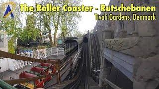 Download The Roller Coaster - Rutschebanen POV at Tivoli Gardens in Copenhagen, Denmark Video
