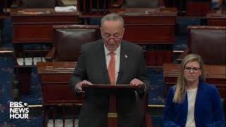 Download WATCH: Schumer calls House sending articles of impeachment to the Senate 'historic' Video