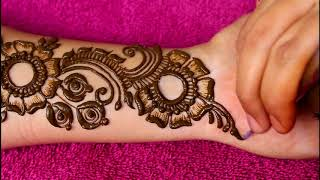 Download Beautiful latest heavy arabic mehndi designs for hands |2018| Video