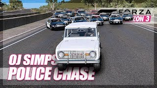 Download Forza Horizon 3 - The Greatest Police Chase of all Time... Recreated! (OJ Simpson) Video