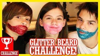 Download GLITTER BEARD CHALLENGE! | KITTIESMAMA Video