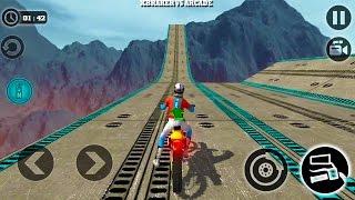 Download Impossible Motor Bike Tracks New Motor Bike Unlocked - Android GamePlay 2017 Video