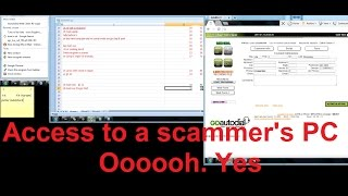 Download Accessing a scammer's PC Video