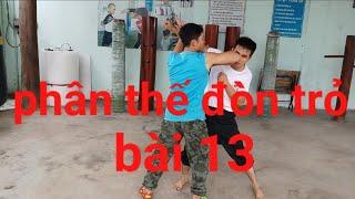Download Phân thế đòn trỏ học võ tại nhà bài 13 Video