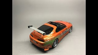 Download Tamiya/USCP: The Fast and The Furious Toyota Supra Full build video Step by step Video