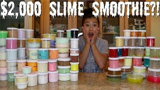 Download $2,000 FAMOUS SLIME SHOP SLIME SMOOTHIE?! (INSANE) Video
