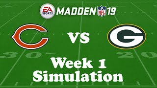 Download Madden NFL 19 Week 1 Simulation: Bears @ Packers Video