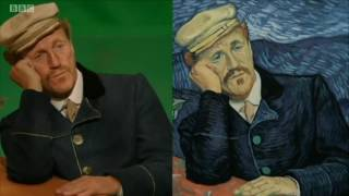 Download BBC piece about Loving Vincent, the world's first fully painted feature film, Video
