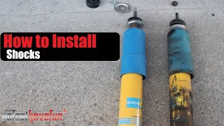 Download How to change Shocks | Shock Replacement | Dampers | Shock Absorbers (Bilstein) | AnthonyJ350 Video