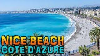 Download NICE Beach - France (4K) Video