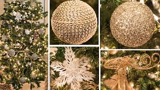 Download DECORATE WITH ME | CHRISTMAS TREE HOW TO Gold, White, Champagne Video