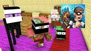 Download Monster School : ROBBERY BOB CHALLENGE - Minecraft Animation Video