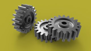 Download Quick way of making gear with AutoCAD Video