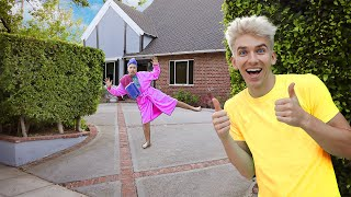 Download HOME ALONE PRANK ON GRACE SHARER!! (Spying On Sister For 24 Hours) Video