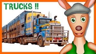 Download TRUCKS: Truck videos for children. Kid Videos. Preschool & Kindergarten learning. Video
