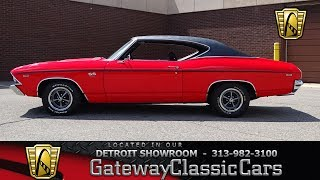 Download 1969 Chevrolet Chevelle SS Stock # 974-DET Video