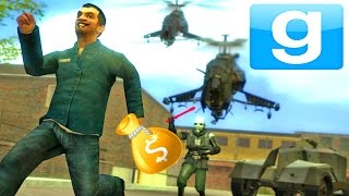 Download GMOD POLICE ROLEPLAY- STEALING ALL THE MONEY!!Garry's Mod Roleplay Server!! | (GMOD Gameplay) Video