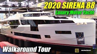 Download 2020 Sirena 88 Luxury Yacht - Walkaround Tour - World Premiere at 2020 Boot Dusseldorf Video