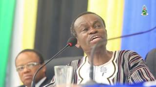 Download Strong message to Africa's young people from PLO Lumumba's speech in the University of Dar Es Salaam Video