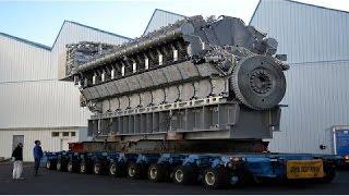 Download Increible Fabricacion Motor DIESEL Mas Grande del Mundo, Instalacion Mecanica Motor Gigante Video
