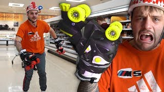 Download I Replaced My Hands & Feet With Roller Skates For The Day.. Video