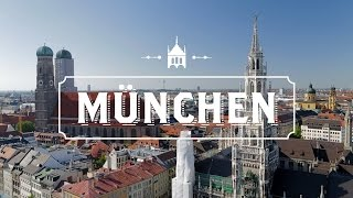 Download A drone in Munchen 4K.Munchen from Drone Top Attractions 4K.Drone over Munchen 4K Video